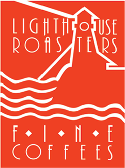 Lighthouse Roasters fine coffees logo