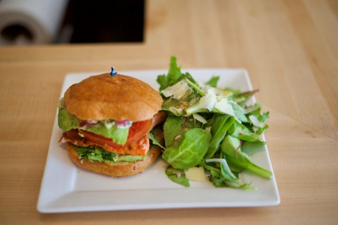 Salmoncreek Salmon Burger