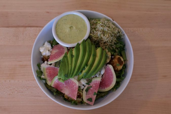 Green Goddess Quinoa Bowl